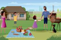 familie-i-sommerhus